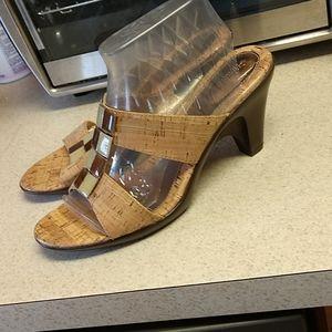 Cork Sandals,EUC,Sz.9 1/2,Dressy-casual